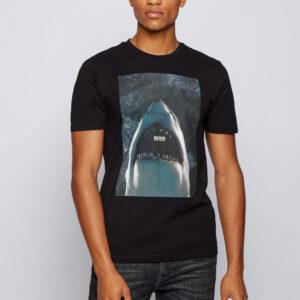 Hugo Boss T-paita, Tnoah 1, Musta