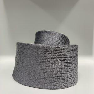 Hugo Boss, 6cm solmio, hopean harmaa