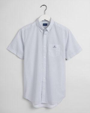 Gant, Regular fit kauluspaita, valkoinen