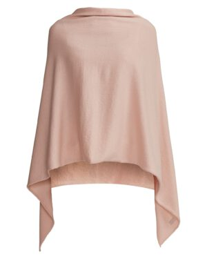 Holebrook, Sofie Poncho, Cream Pink