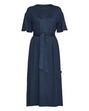 Holebrook, Mekko, Kajsa Slit Dress, tummansininen
