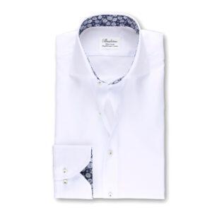 Stenströms, Valkoinen Cotton Twofold kauluspaita